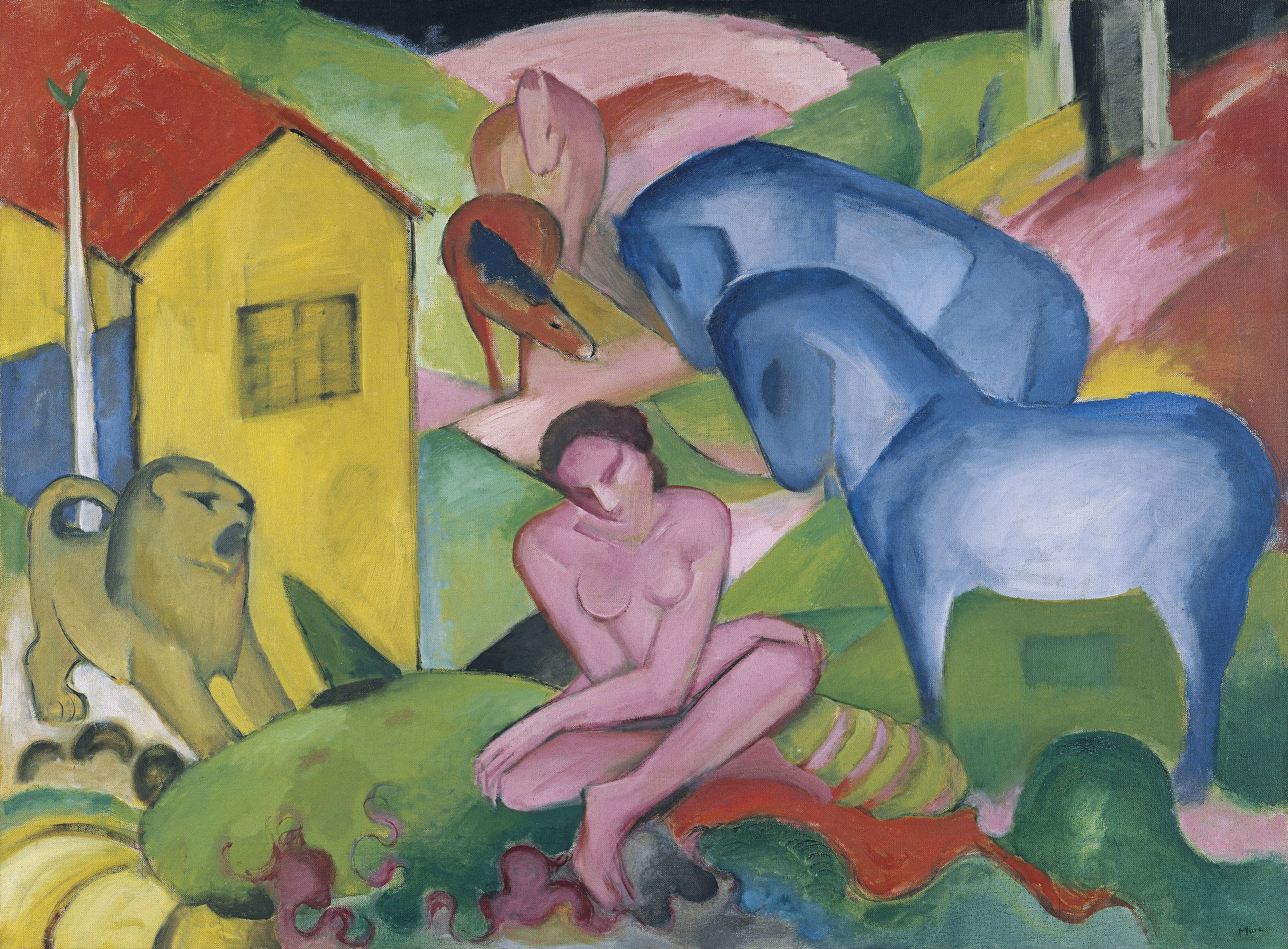 Franz Marc: Der Traum, 1912