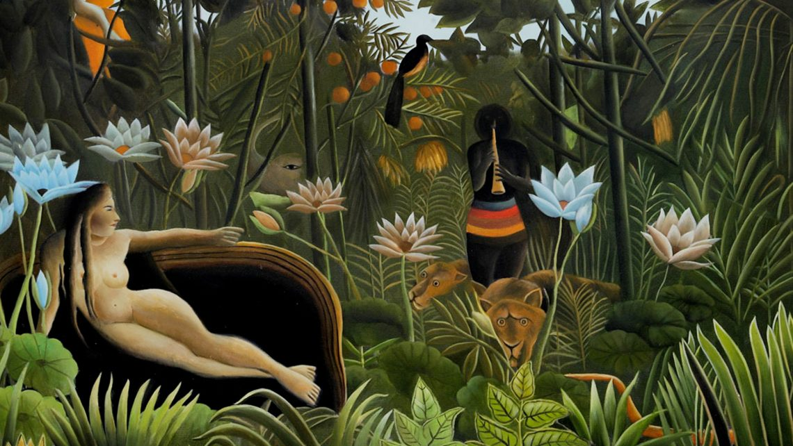 Henri-Rousseau: The Dream (1910 - Museum of Modern Art - NY)