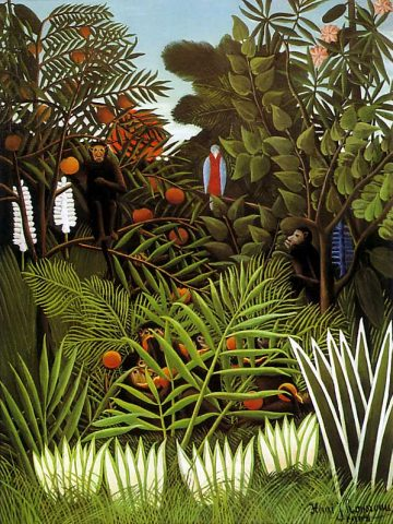 Henri Rousseau: Exotic_Landscape