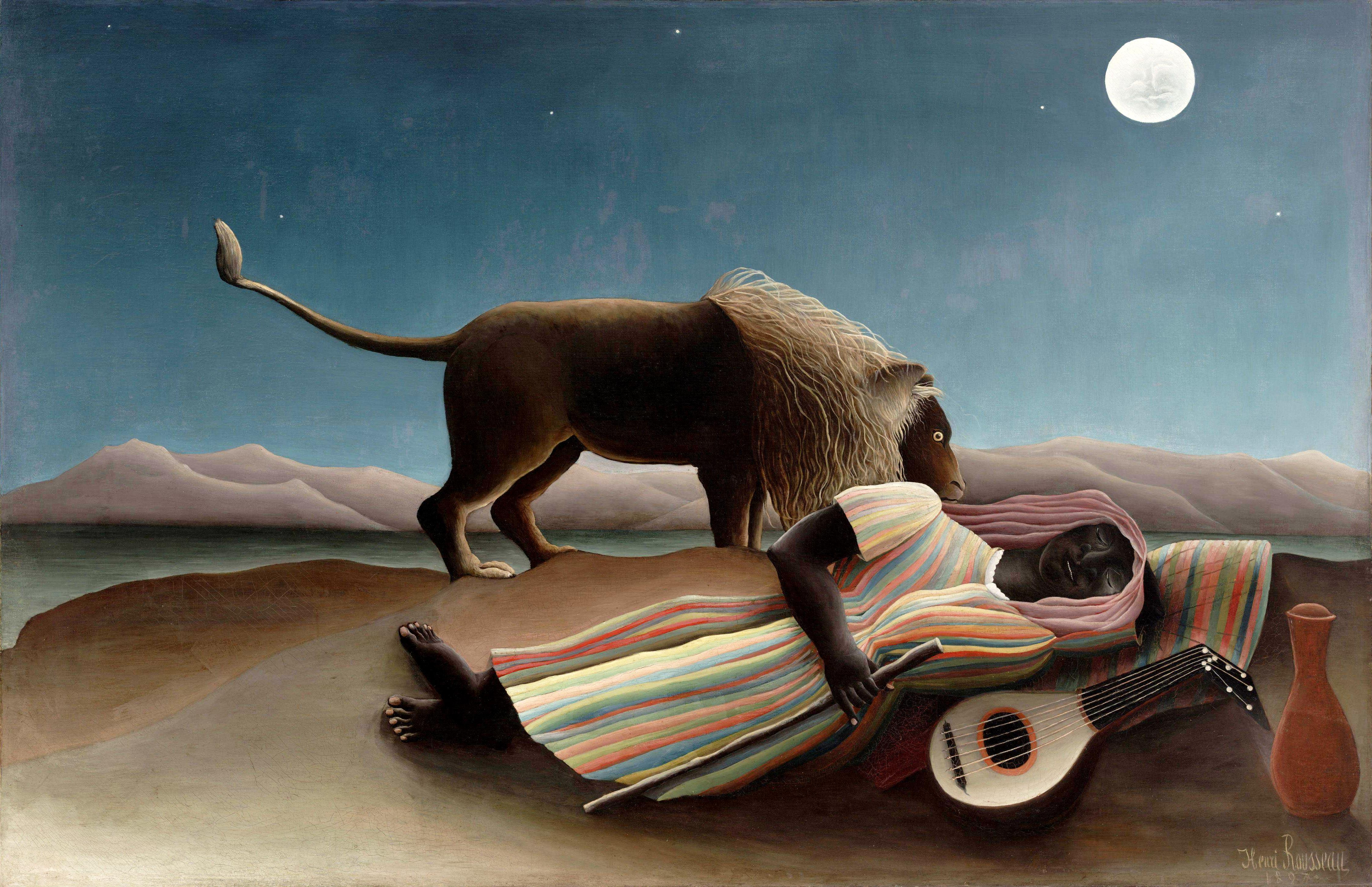 Henri Rousseau - La zingara addormentata