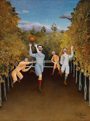 Henri Rousseau: The_Football_Players