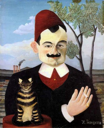 Henri Rousseau : Portrait of Monsieur X (Pierre Loti - 1907)
