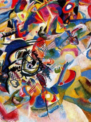 Vassily Kandinsky: Komposition VII, 1913