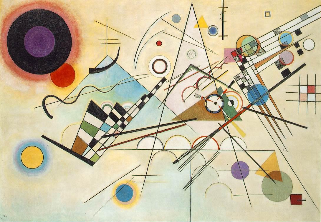 Vassily Kandinsky: Komposition VIII, 1923, Solomon R. Guggenheim Museum