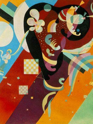 Vassily Kandinsky: Composition IX, 1936, Musée National d'Art Moderne, Paris