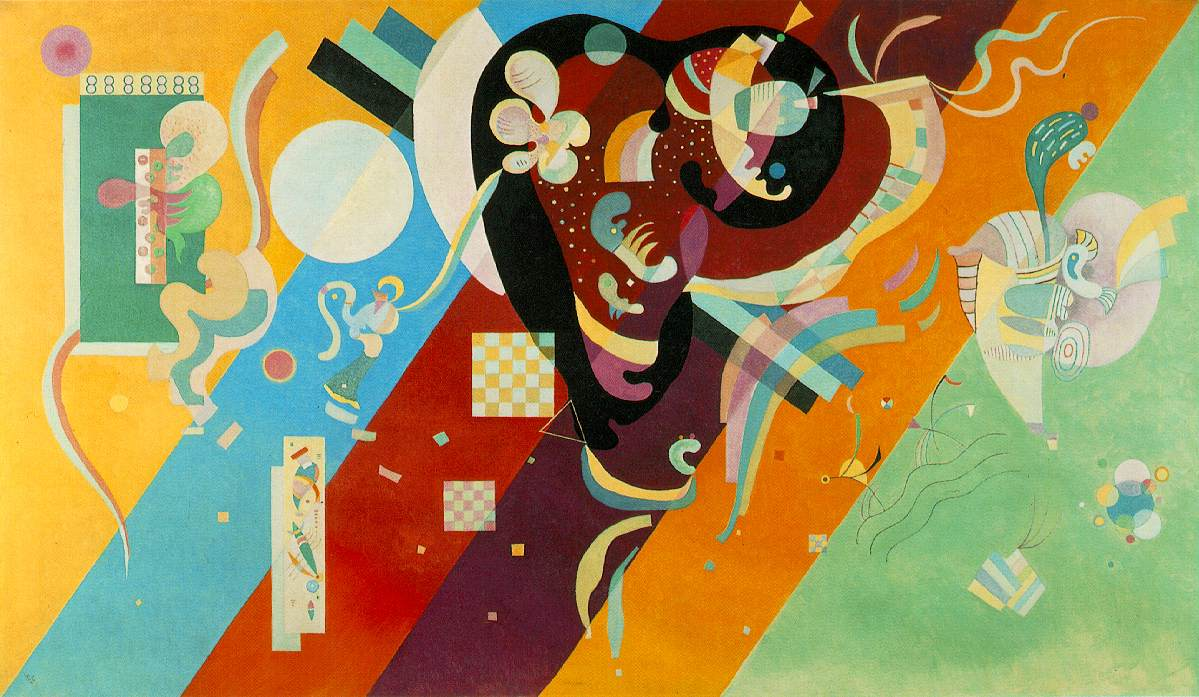 Vassily Kandinsky: Composition IX, 1936, Musée National d'Art Moderne, Paris