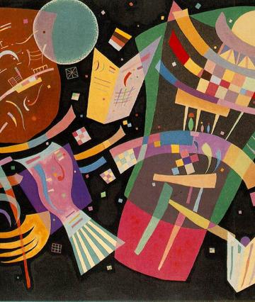 Wassily Kandinsky: Komposition X, 1939, Kunstsammlung Nordrhein-Westfalen, Düsseldorf